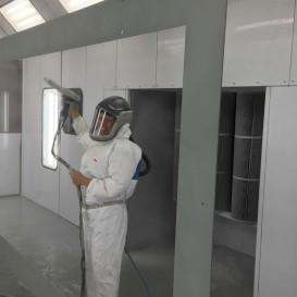 Système de filtration pour le confort de nos peintres
