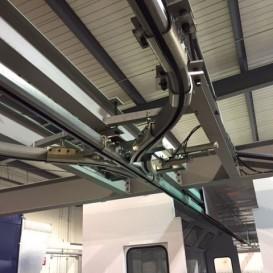 Système de rail aérien (capacité de 200 lbs. au pied)